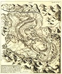 Map Of Jerusalem Map Of Jerusalem Of Ancient Times Arias Montanus Benedictus