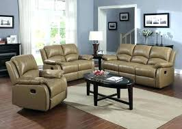 Reclining Sofa With Console by Loveseat Wallace Leather Power Reclining Loveseat Red Leather