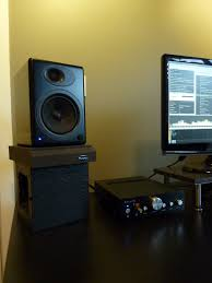 Desk Studio Monitor Stands by Speakers On A Desk Or On Stands Head Fi Org