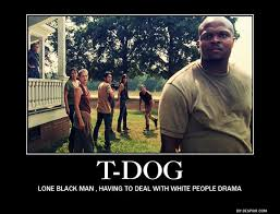 T Dogg Walking Dead Meme - irone singleton opens up about his exit from the walking dead