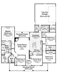 country home floor plans country house plans style two low with wrap around porch ranch