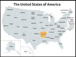 Arkansas Map Us Newsela Arkansas The Natural State