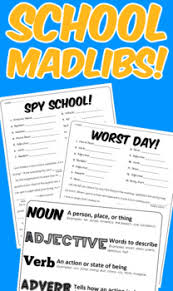mad libs worksheets pack by mrwatts teachers pay teachers