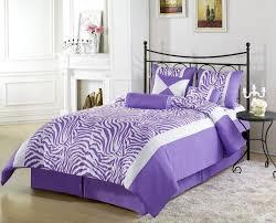 bedroom ideas zebra purple