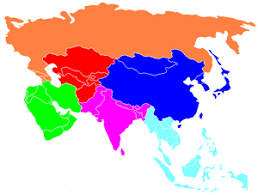 map of asai prehistoric asia