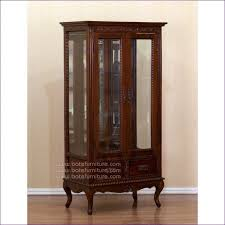 All Glass Display Cabinets Home Kitchen Room Awesome Vintage Glass Curio Cabinet Home Furniture