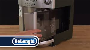 delonghi magnifica red light de longhi how to descale magnifica esam4200 youtube