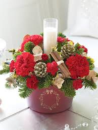 home design pretty beautiful christmas arrangements rose flower