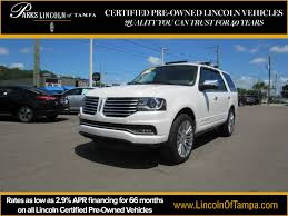 lexus tampa pre owned certified pre owned 2015 lincoln navigator in tampa fl serving