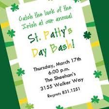 st patricks day invitations u0026 st patricks day party invitations