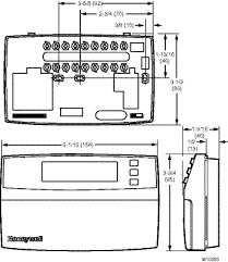 honeywell chronotherm iii wiring diagram u0026 honeywell honeywell