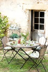 jardin design photo awesome table jardin teck et fer contemporary amazing house