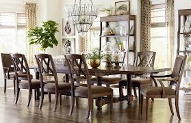 bassett dining room furniture compass 104 trestle dining table by bassett furniture