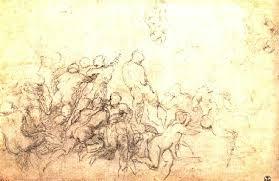 battle of cascina u2013 michelangelo drawing blood