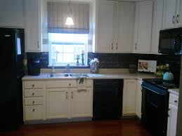 Photos Of Backsplashes In Kitchens Diy Stenciled Backsplash Snazzy Little Things