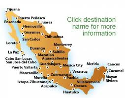 Oaxaca Mexico Map Mexico Beaches Map Map Of Beaches In Mexico Central America