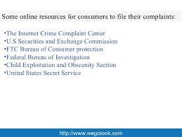 consumer fraud bureau fraud complaint