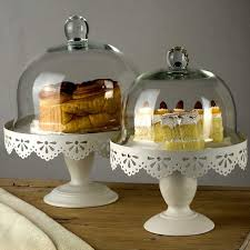 cake stand with cover free shipping gentle times european style iron cake box glass