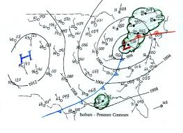 Fill In The Blank Us Map by Lecture 8 Surface Weather Map Analysis