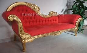 Antique Chaise Lounge Sofa by Ornate Gold Chaise Longue Hampshire Barn Interiors