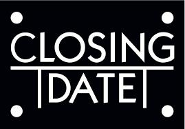 closing date nieuws