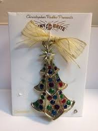 vintage makit and bakit 10 piece stained glass christmas ornament