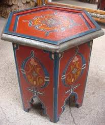 moroccan tea table stand small hand painted moroccan tea table stand 95 00 moroccan