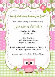 baby shower owl invitations marialonghi com