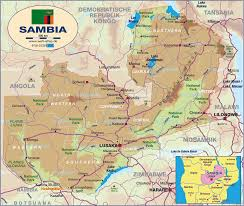 map of zambia map of zambia map in the atlas of the atlas