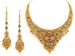 golden necklace new design images Latest design of gold necklace latest design updates jpg