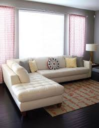 White Tufted Leather Sofa by White Leather Couches Leather Ottoman Along With White Leather