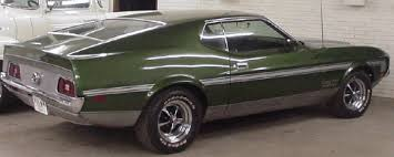 70s mustang ford mustang 70s mach 1 ss rs cars