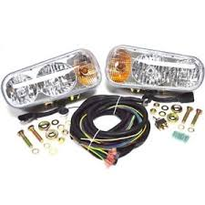 meyer snow plow replacement lights universal halogen snow plow light kit fits western meyer fisher boss