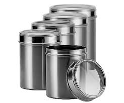 stainless steel kitchen canister sets online buy wholesale kitchen canisters stainless steel from china