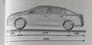 new renault megane sedan renault megane sedan revealed in manual leak