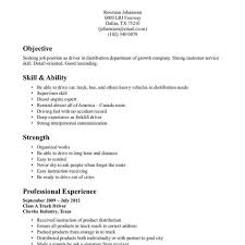100 resume template for truck driving job holiday rep cover