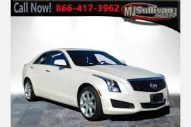 2013 cadillac ats white used white cadillac ats for sale edmunds