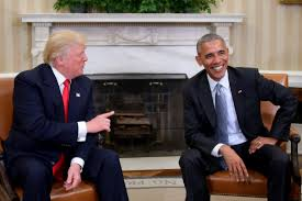 Oval Office Trump by Trump Calls Obama U0027a Very Good Man U0027 After Historic White House