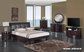 7pc evelyn glass top bedroom set