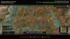 Fallout 3 Locations Map by All Quest Objectives On Map At The Witcher 3 Nexus Mods And