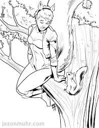 daily sketch squirrel u2014 jason muhr freelance graphic