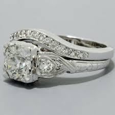 wedding sets on sale fashioned wedding ring sets vintage keepsake diamond wedding