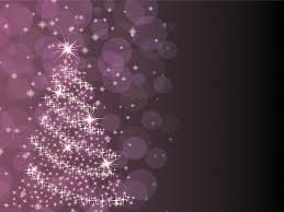 purple christmas tree powerpoint ppt backgrounds christmas