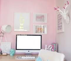 Pink Glass Desk Glass Top Desk Contemporary Den Library Office The Every