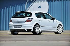 opel astra 2005 new rieger bodykits for astra and corsa