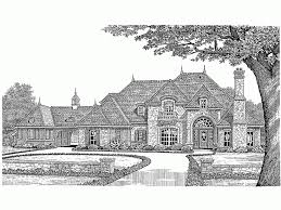 Chateau Home Plans Home Plan Homepw22171 5300 Square Foot 5 Bedroom 5 Bathroom