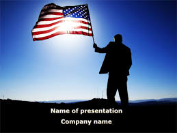 http www pptstar com powerpoint template flag of the usa flag