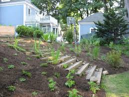 landscaping steps on a steep slope diy landscaping steps from