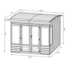 wooden summer house plans free
