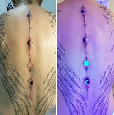 black light necklace images 30 creative black light tattoos you can see only under uv light jpg
